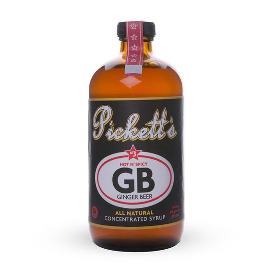 Pickett's - #3 Ginger Beer Syrup Hot n' Spicy