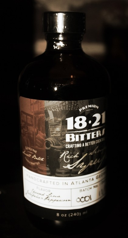 18.21 Bitters - Charred Lime, Jalapeño and Peppercorn Syrup 16oz
