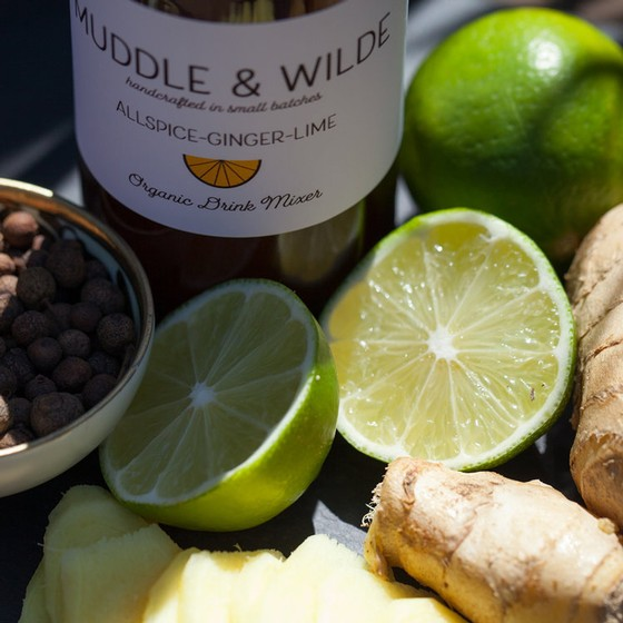 Muddle & Wilde - All Spice Ginger Lime - 8oz