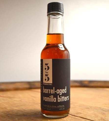 5 by 5 Tonics Co. - Barrel Aged Vanilla Bitters 5oz