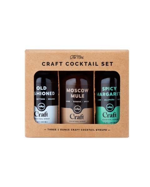 Craft Cocktail - Mini Syrup Kit
