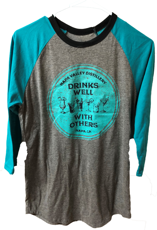 Misc - Ball-Shirt Blue-Grey - Drinks Well