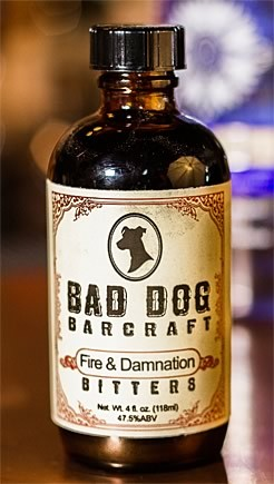 Bad Dog Bar Craft - Fire & Damnation Bitters