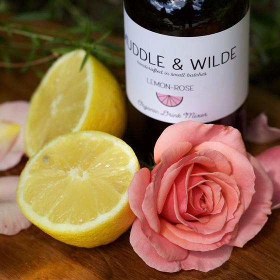 Muddle & Wilde - Lemon Rose Mixer - 8oz Image