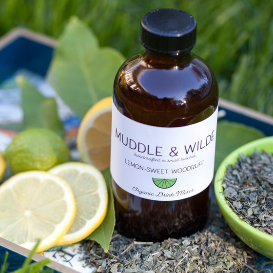 Muddle & Wilde - Lemon Sweet Woodruff - 8oz