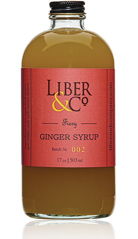 Liber & Co. - Fiery Ginger Syrup