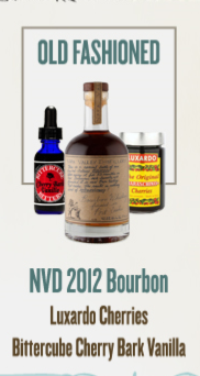 NVD - Old Fashioned Cocktail Kit
