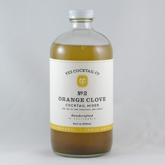 Yes Cocktail Co. - Orange Clove Cocktail Mixer