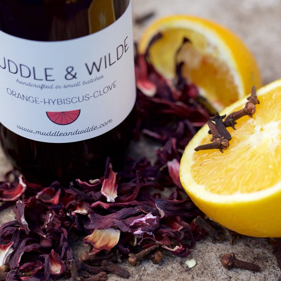 Muddle & Wilde - Orange Hibiscus Clove - 8oz