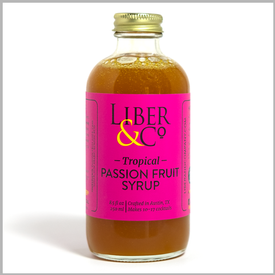 Liber & Co. - Passion Fruit Syrup Image