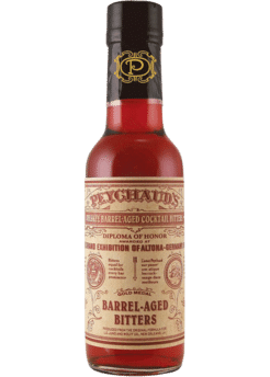 Peychaud's - Whiskey Barrel Aged Cocktail Bitters