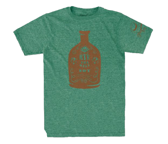 Misc - T-Shirt Rye Bottle Green