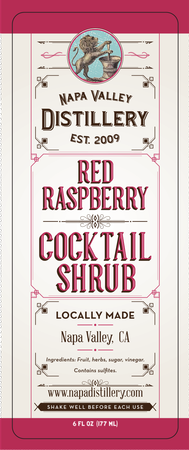 Red Raspberry Shrub