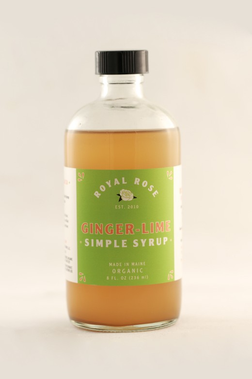 Royal Rose - Ginger Lime Syrup