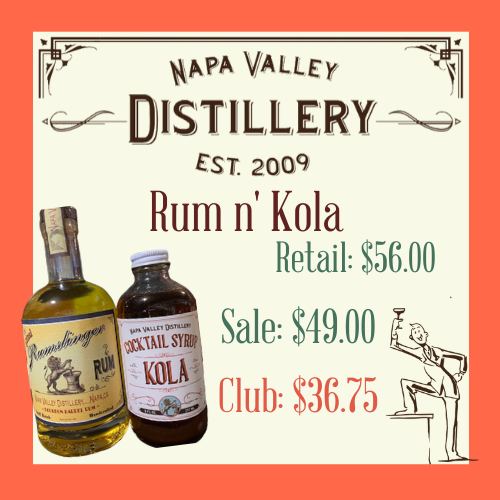 Rum n' Kola - Napa Valley Distillery