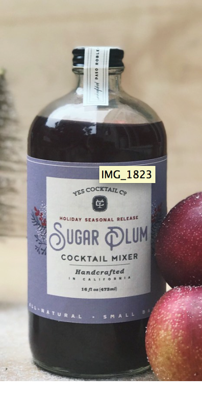 Yes Cocktail Co. - Sugar Plum Cocktail Mixer
