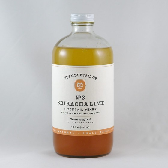 Yes Cocktail Co. - Sriracha Lime Cocktail Mixer