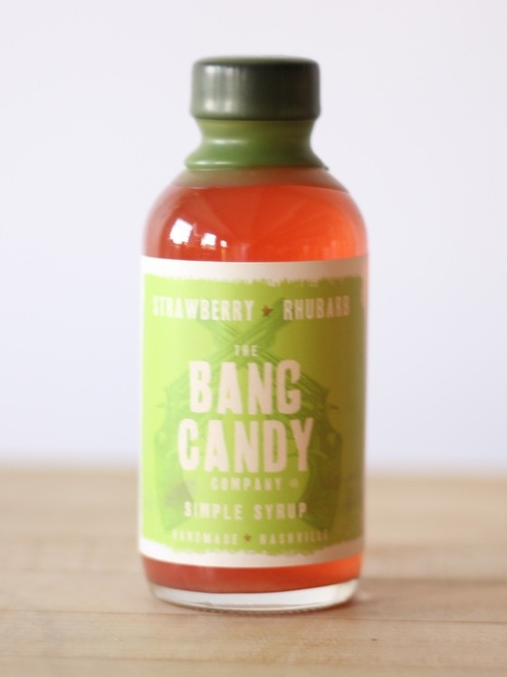 Bang Candy - Strawberry Rhubarb Syrup