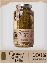 The Real Dill - Pickles, Caraway Garlic Dill