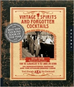 Book - Vintage Spirits and Forgotten Cocktails