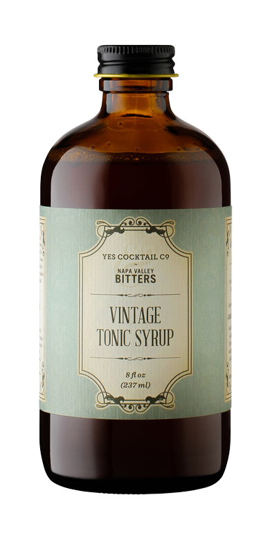 Yes Cocktail & Napa Valley Bitters - Vintage Tonic Syrup Image