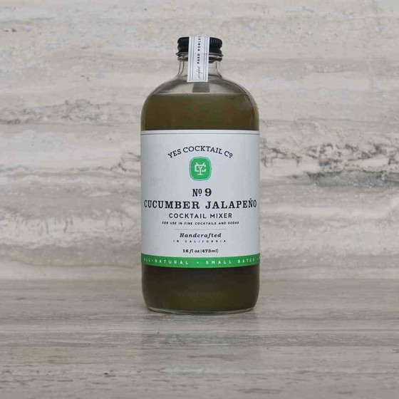 Yes Cocktail Co. - Cucumber & Jalapeno Mixer - 16oz Image