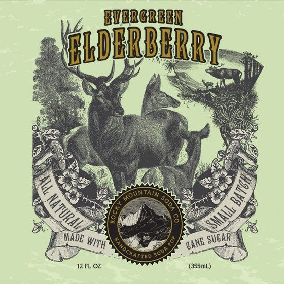 Rocky Mountain Soda- Elderberry