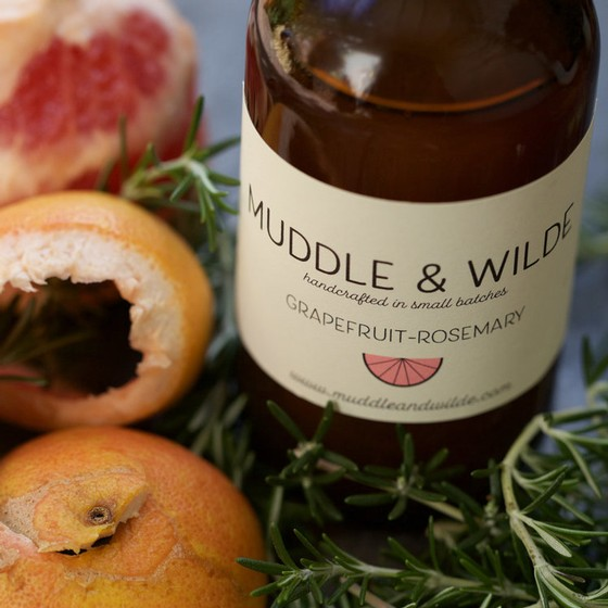Muddle & Wilde - Grapefruit Rosemary - 8oz Image