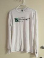 Misc - Shirt, White/Grey Long Sleeve Thermal