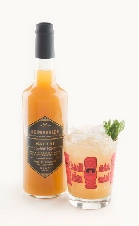B.G. Reynolds' Syrups - Mai Tai Mix - 750ml Image
