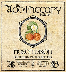 Apothecary Bitters - Mason Dixion Bitters