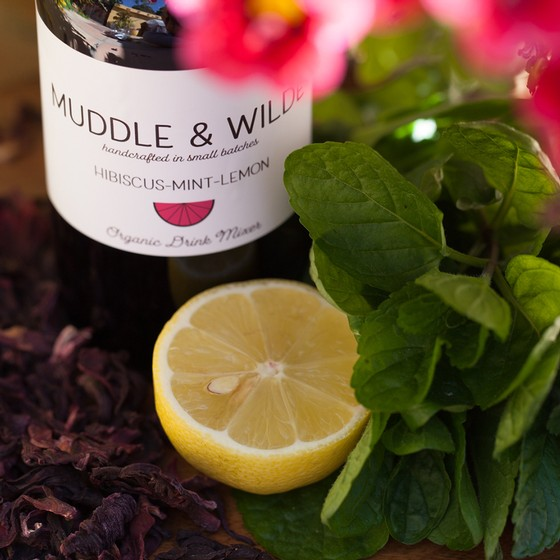 Muddle & Wilde - Hibiscus Mint Lemon - 8oz
