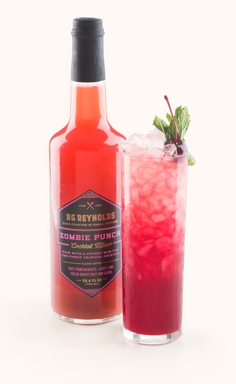 B.G. Reynolds' Syrups - Zombie Mix - 750ml Image