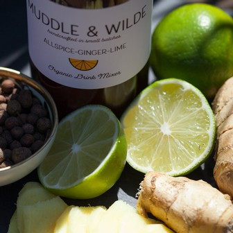 Muddle & Wilde - All Spice Ginger Lime - 8oz Image