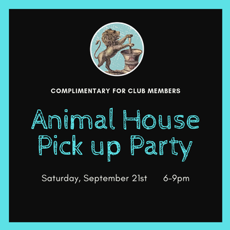 Autumn 2019 Member Party - Animal House