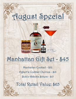 THE Manhattan Gift Set Special
