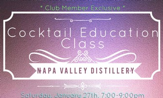 January Cocktail Education Class