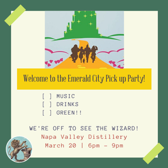 Spring 2020 Member Party - Welcome to Emerald City