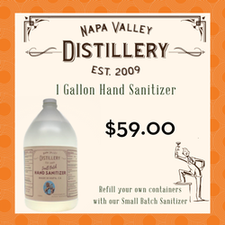 Small Batch Hand Sanitizer - Gallon Refill