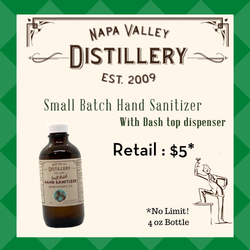 Small Batch Hand Sanitizer - Dash Top