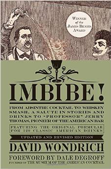 Book - Imbibe! From Absinthe Cocktail to Whiskey Smash
