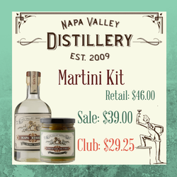 Martini Kit - Napa Valley Distillery