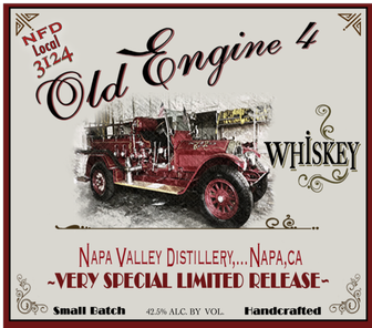 Napa Valley Distillery - Old Engine #4 Whiskey