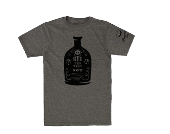 Misc - T-Shirt Rye Bottle Grey