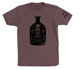 Misc - T-Shirt Rye Bottle Red