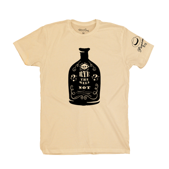 Misc - T-Shirt Rye Bottle Yellow