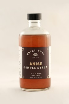 Royal Rose - Anise Syrup