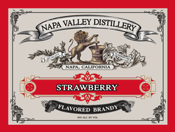 Strawberry Flavored Neutral Brandy