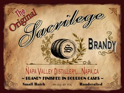 Sacrilege - Bourbon Barrel Brandy