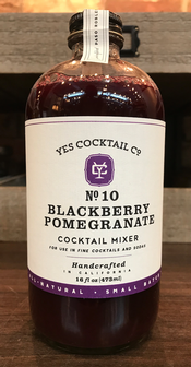 Yes Cocktail Co. - Blackberry Pomegranate Cocktail Mixer Image